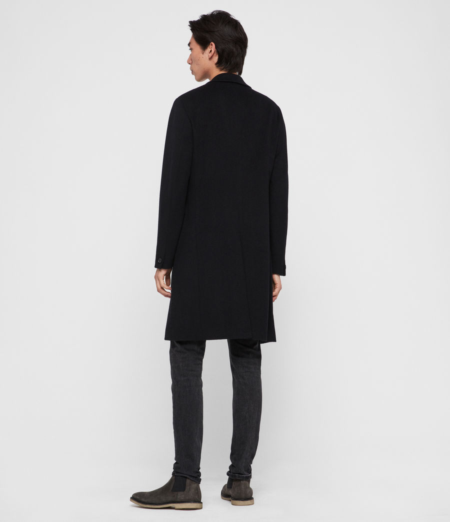 Uomo Cappotto Birdstow - Slim monopetto in lana (ink_navy) - Image 7