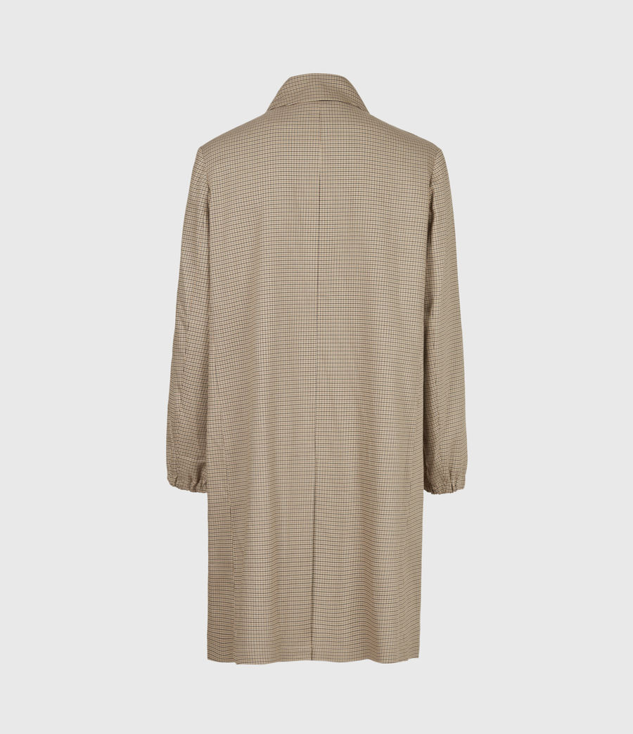 Hommes Axon Coat (brown_beige_check) - Image 4