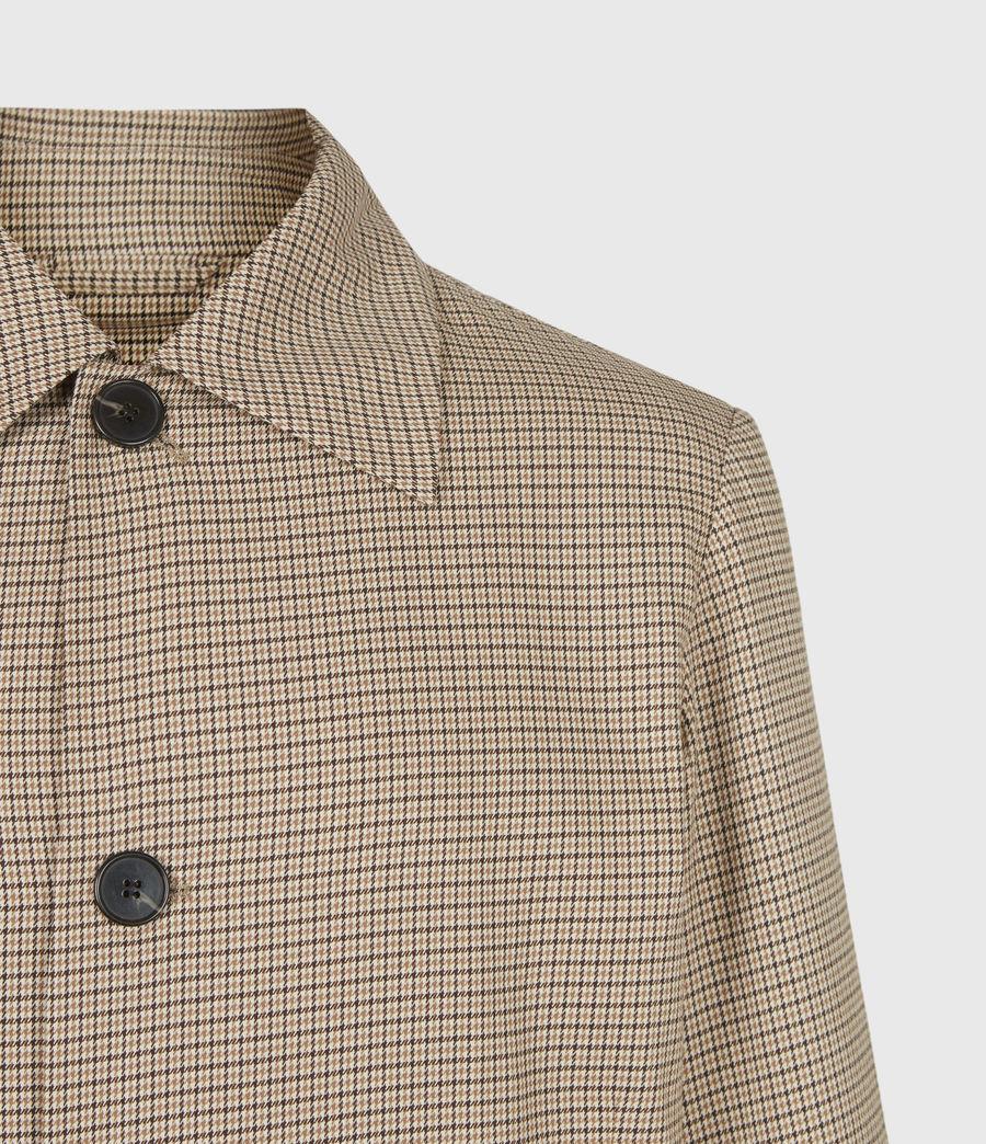 Hommes Axon Coat (brown_beige_check) - Image 5