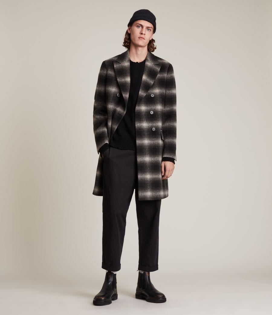 Men's Ventry Coat (black_white) - Image 1