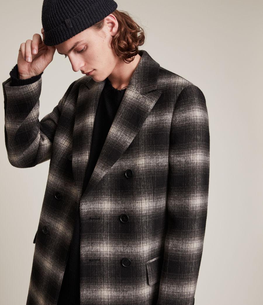 Men's Ventry Coat (black_white) - Image 2