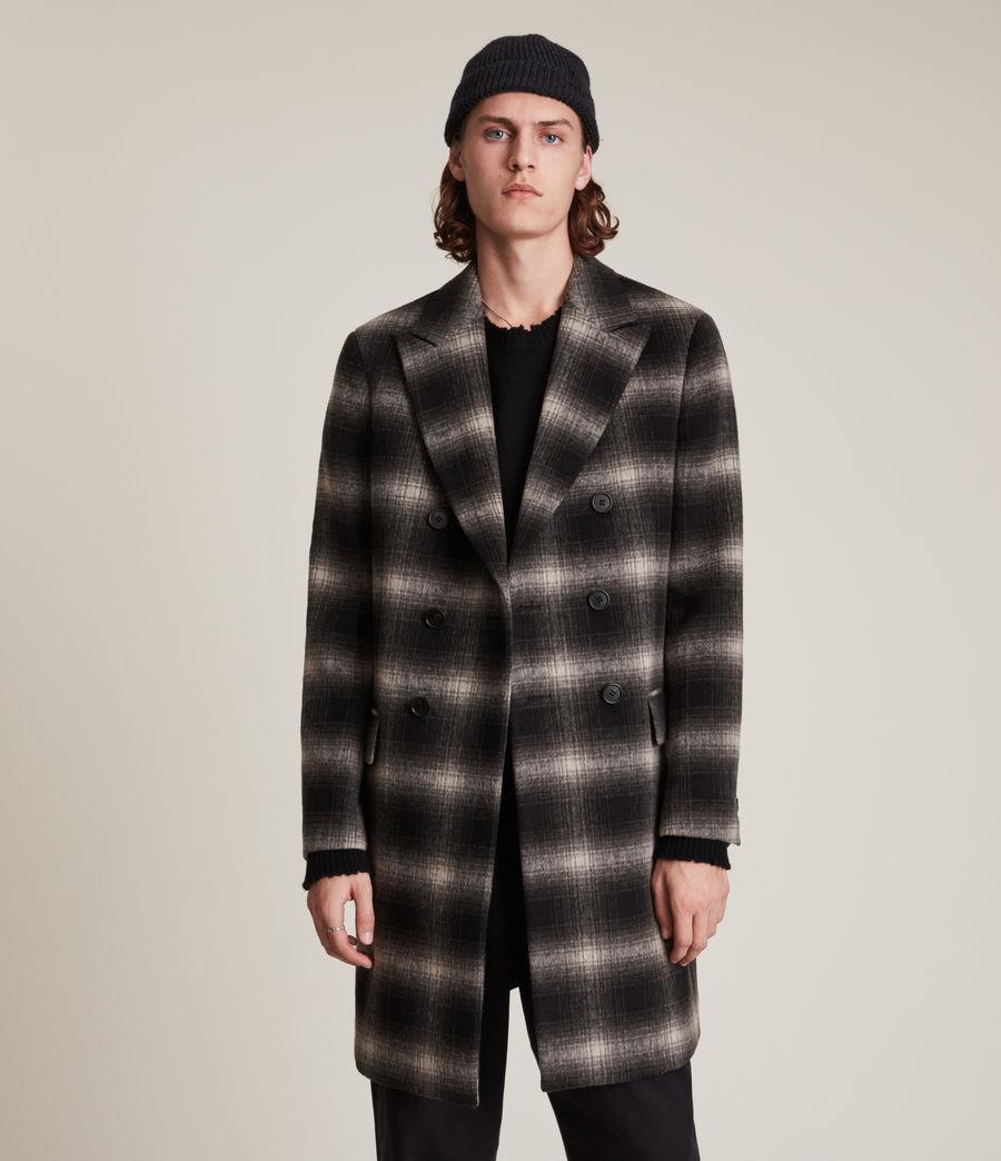 Men's Ventry Coat (black_white) - Image 3