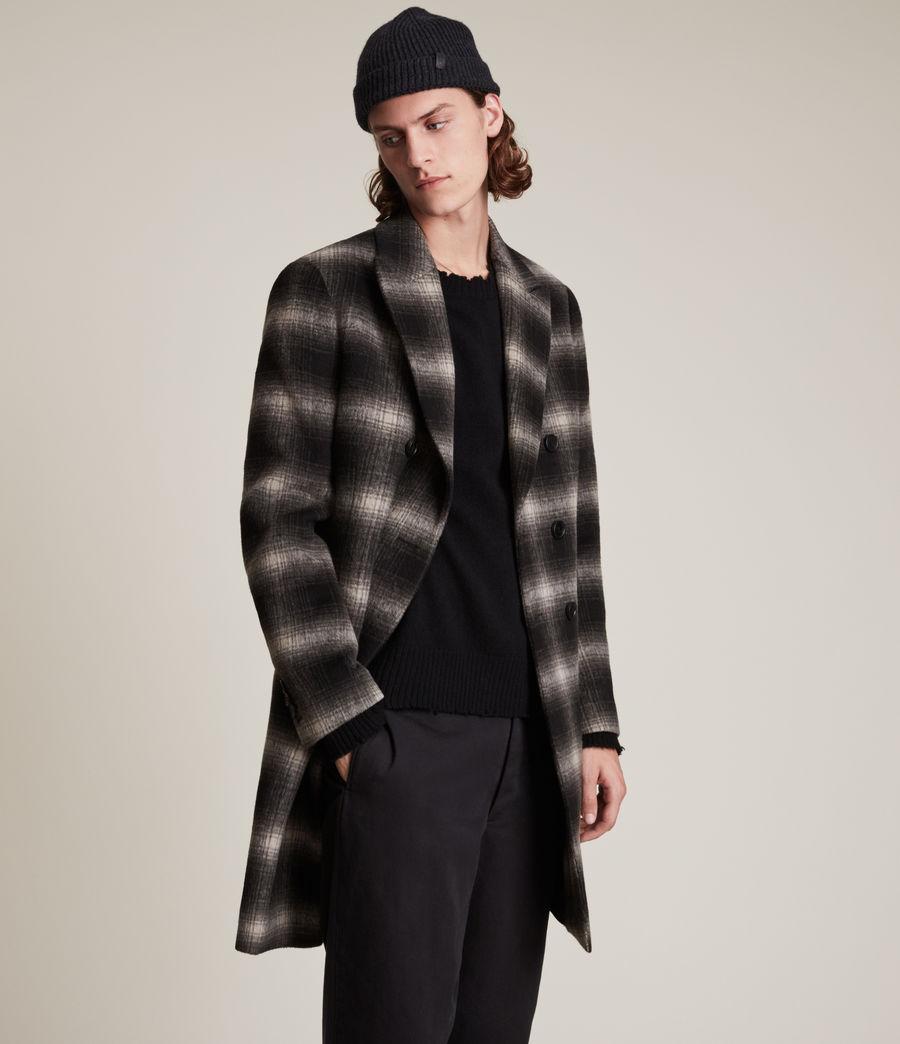 Men's Ventry Coat (black_white) - Image 4