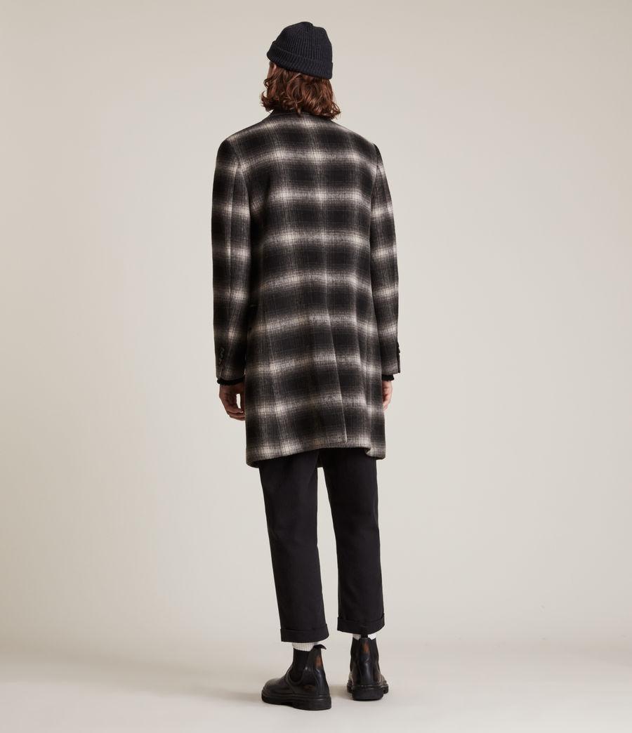 Men's Ventry Coat (black_white) - Image 5
