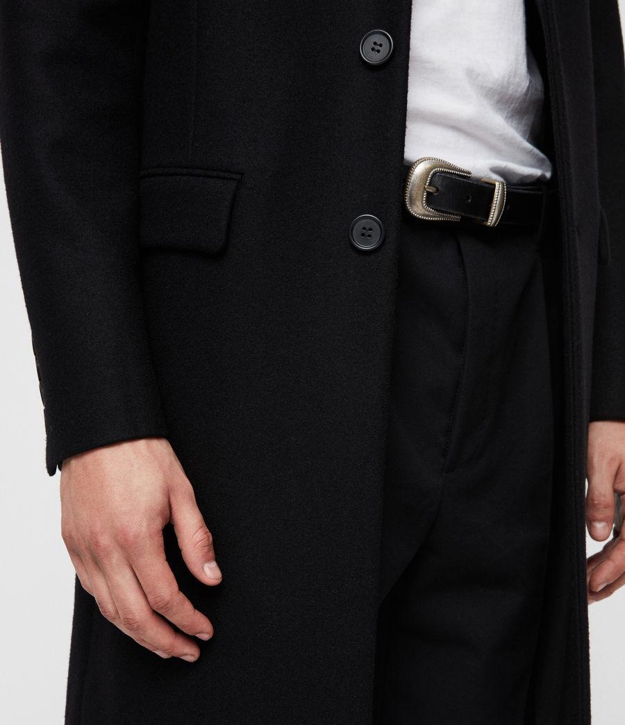 Uomo Cappotto Dowell (black) - Image 2
