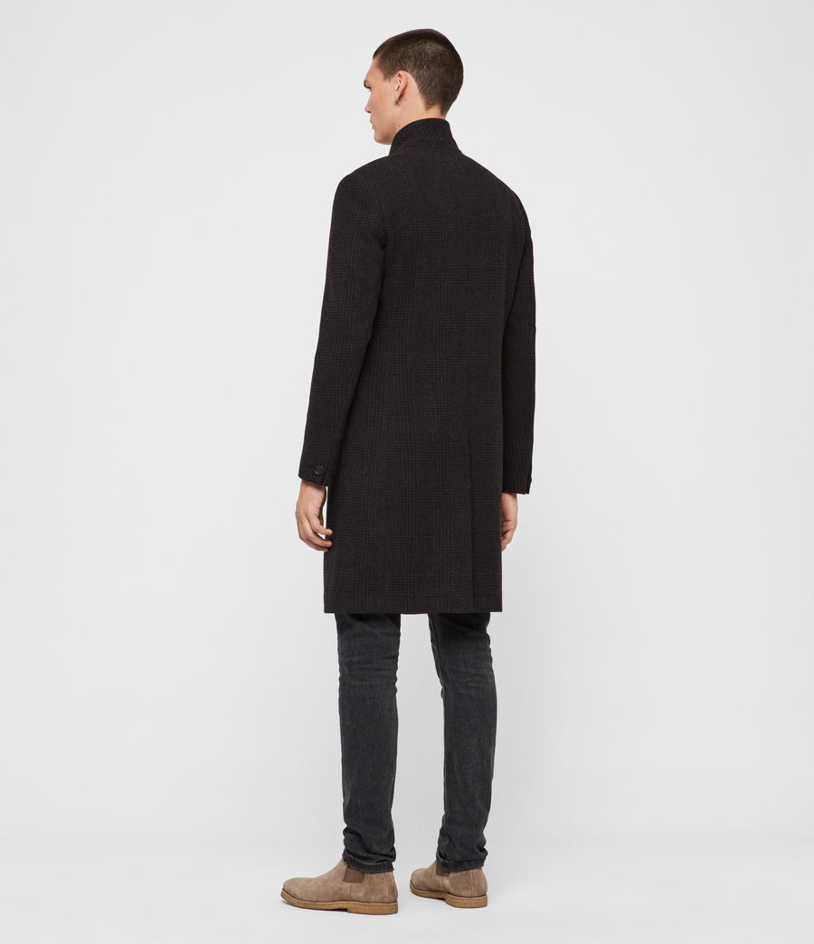 Mens Burge Coat (black_charcoal) - Image 6