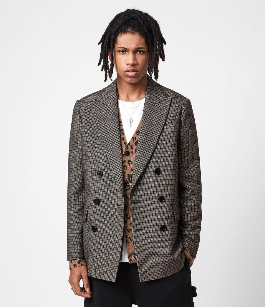 Men's Hugh Coat (grey) - Image 1