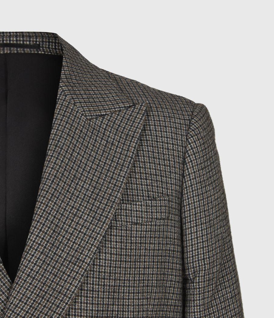 Men's Hugh Coat (grey) - Image 5