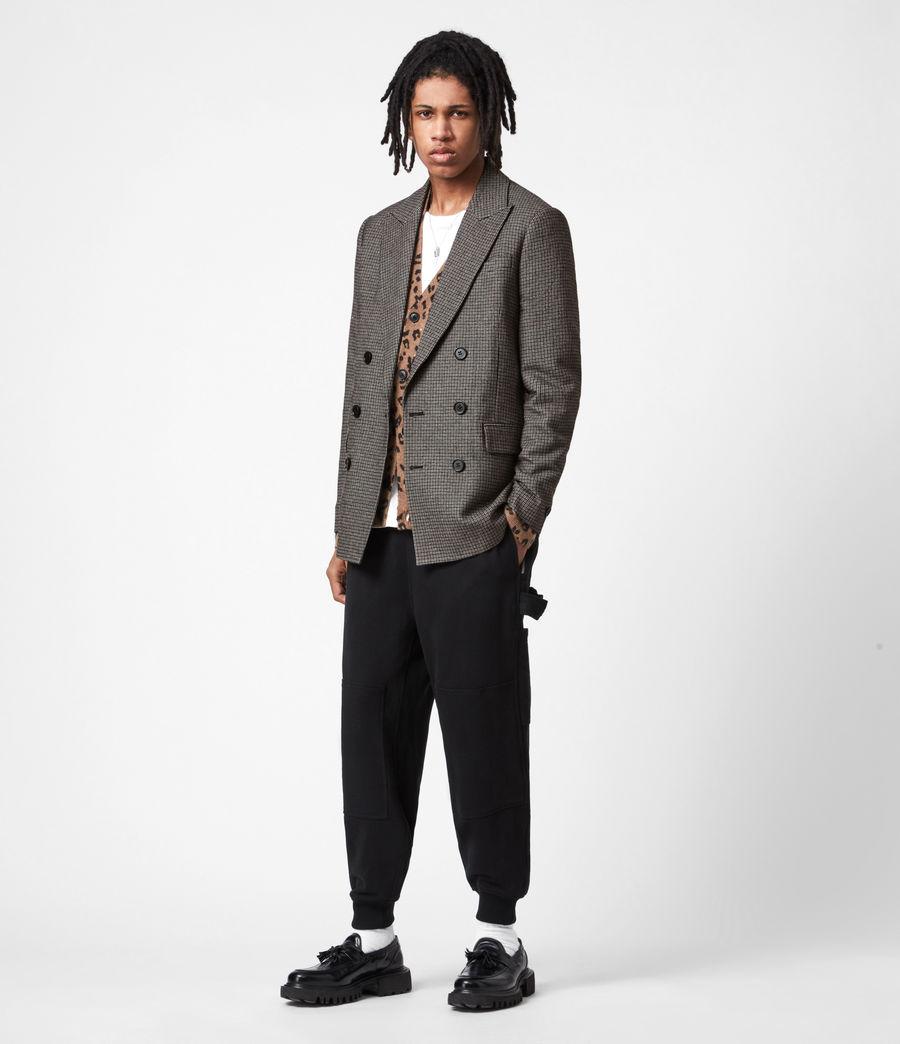 Men's Hugh Coat (grey) - Image 7