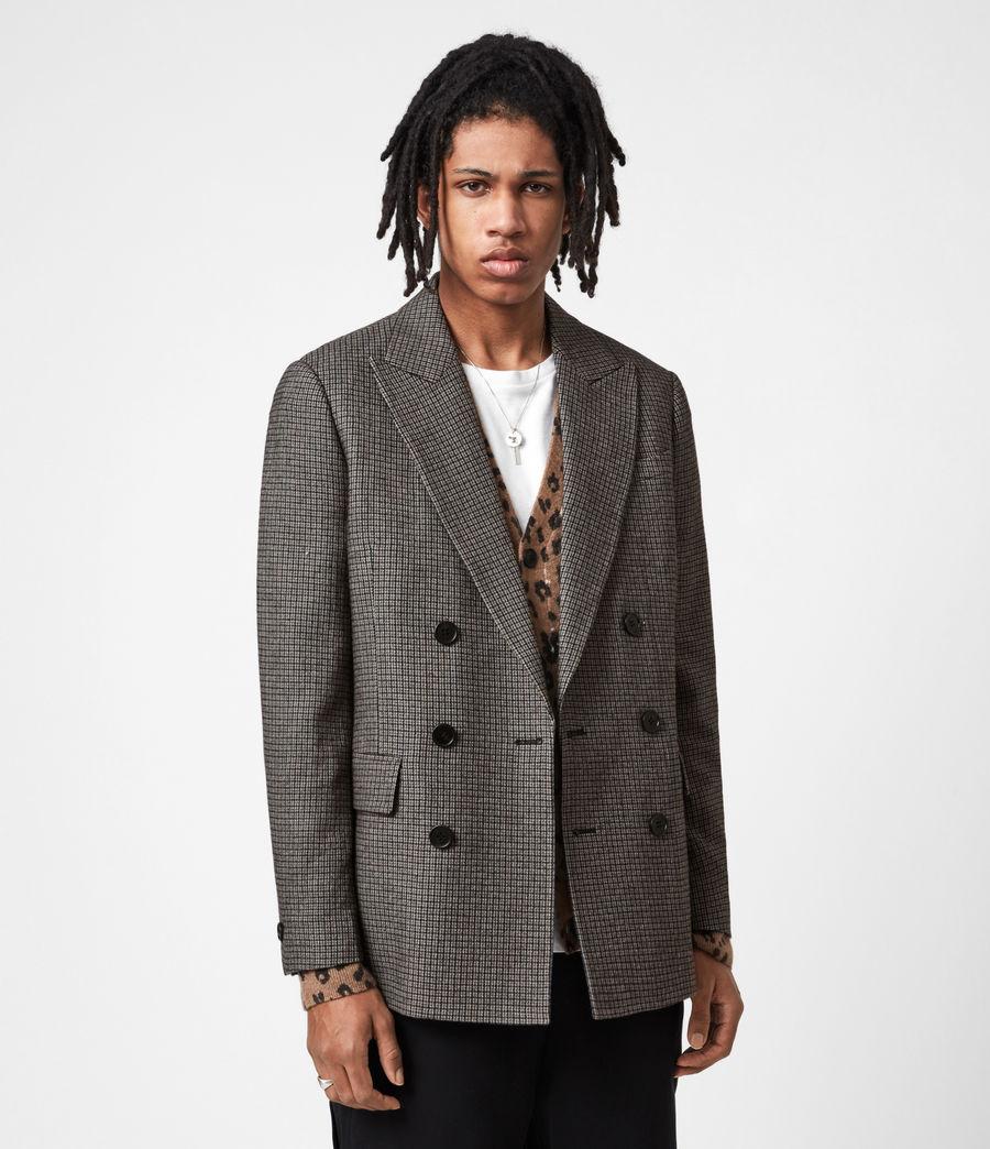 Men's Hugh Coat (grey) - Image 8