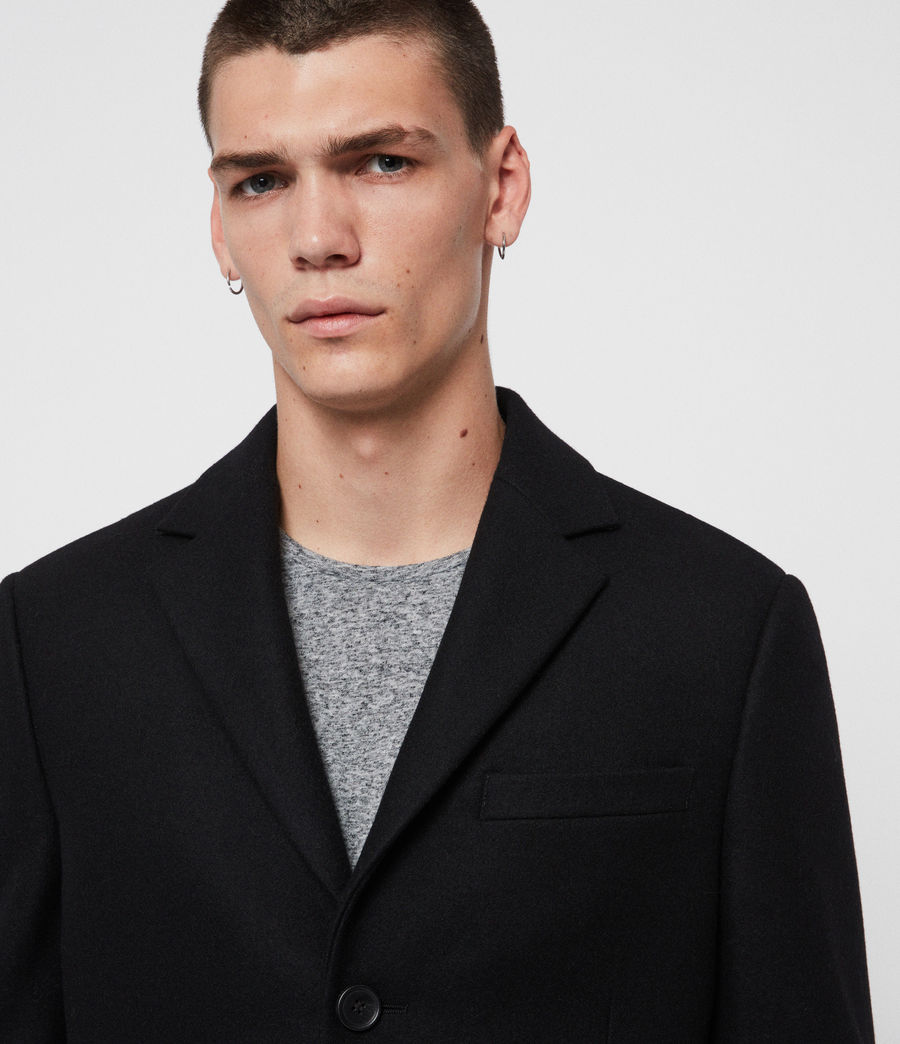 Mens Chalcot Coat (black) - Image 2