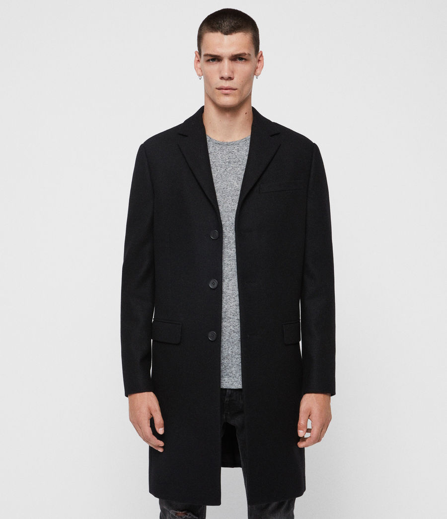 Mens Chalcot Coat (black) - Image 3