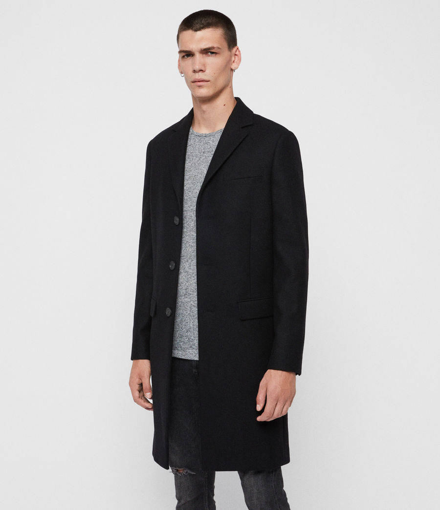 Men's Chalcot Coat (black) - Image 1