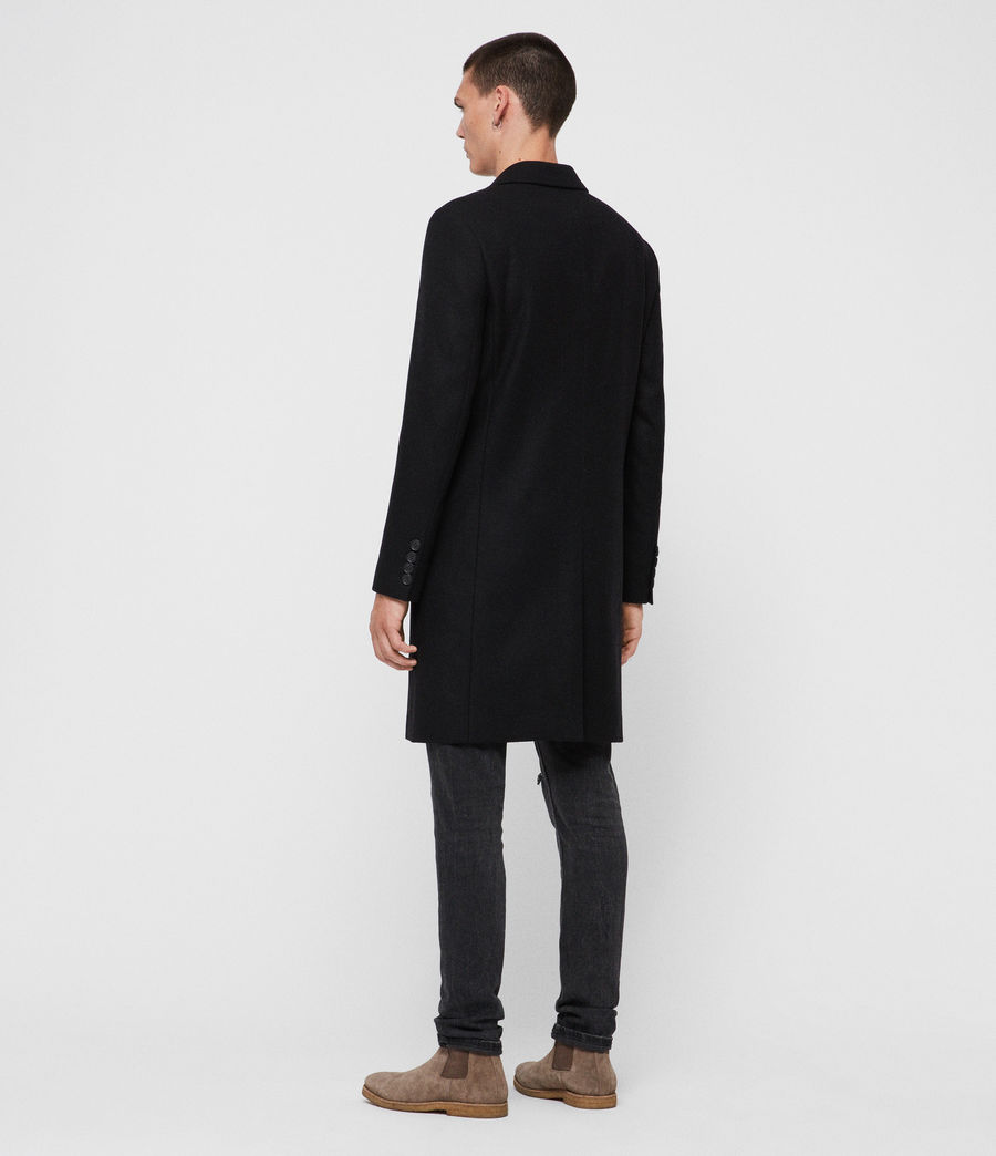 Mens Chalcot Coat (black) - Image 6