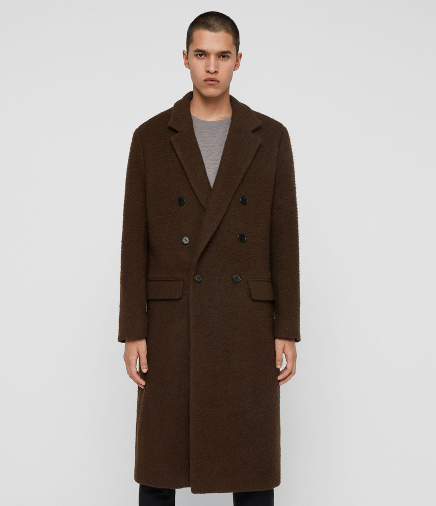 Mens Heron Coat (brown) - Image 4