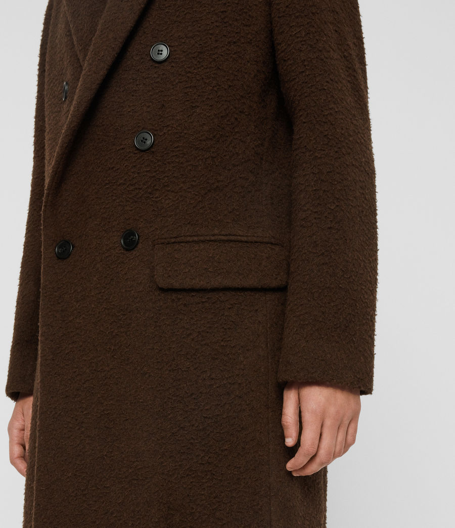 Mens Heron Coat (brown) - Image 5