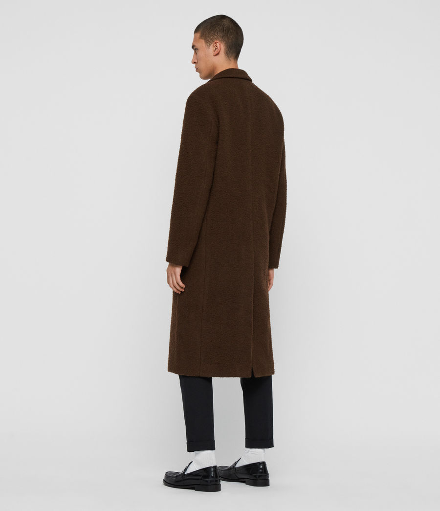 Mens Heron Coat (brown) - Image 6
