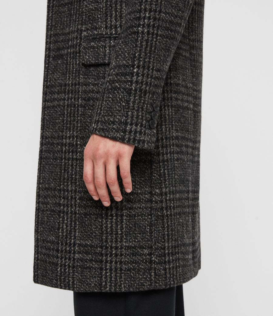 Men's Bendall Coat (black_grey) - Image 4