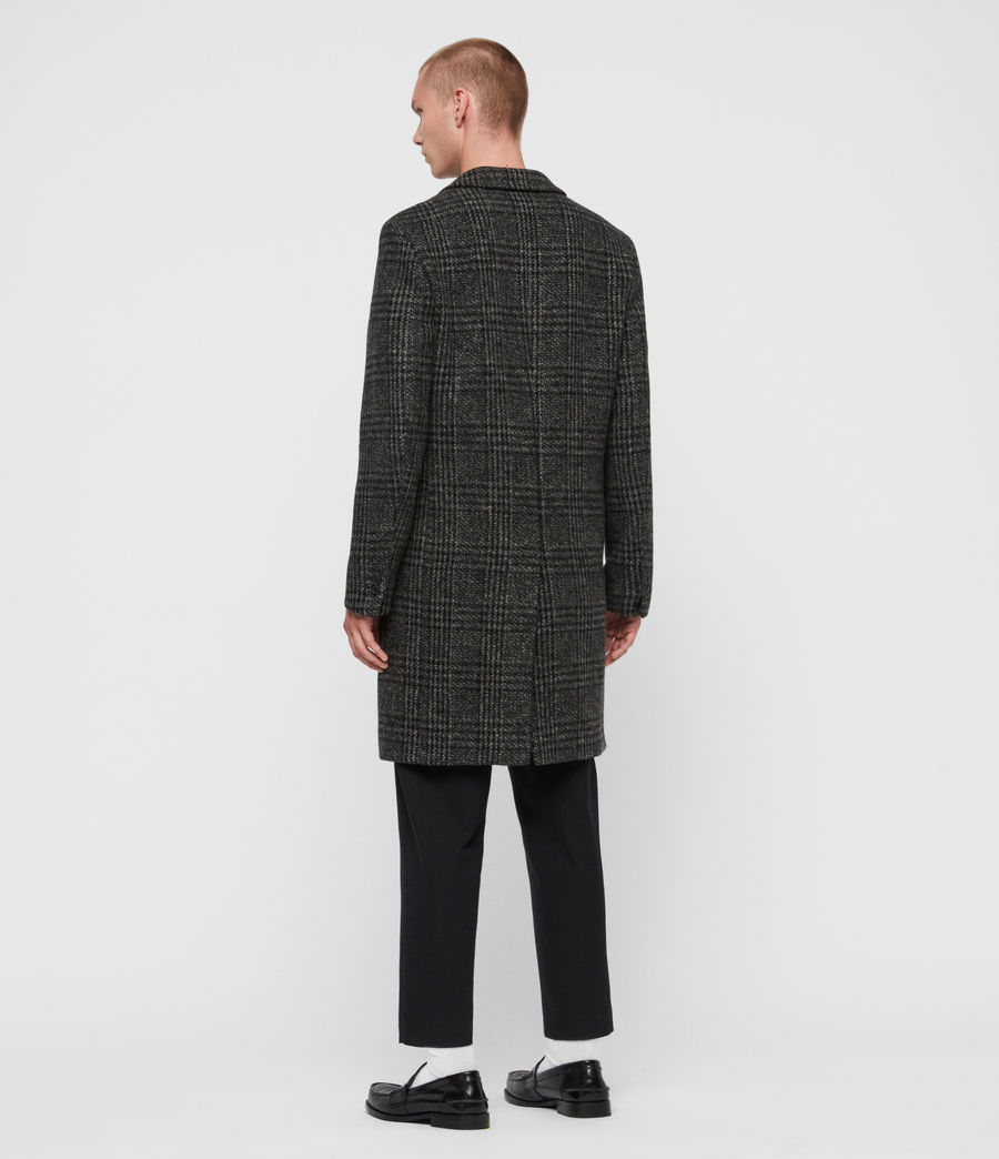 Men's Bendall Coat (black_grey) - Image 7