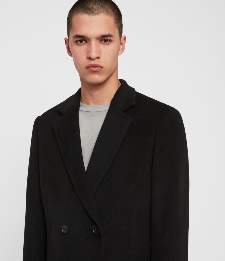 Men's Sandbrook Coat (black) - Image 2