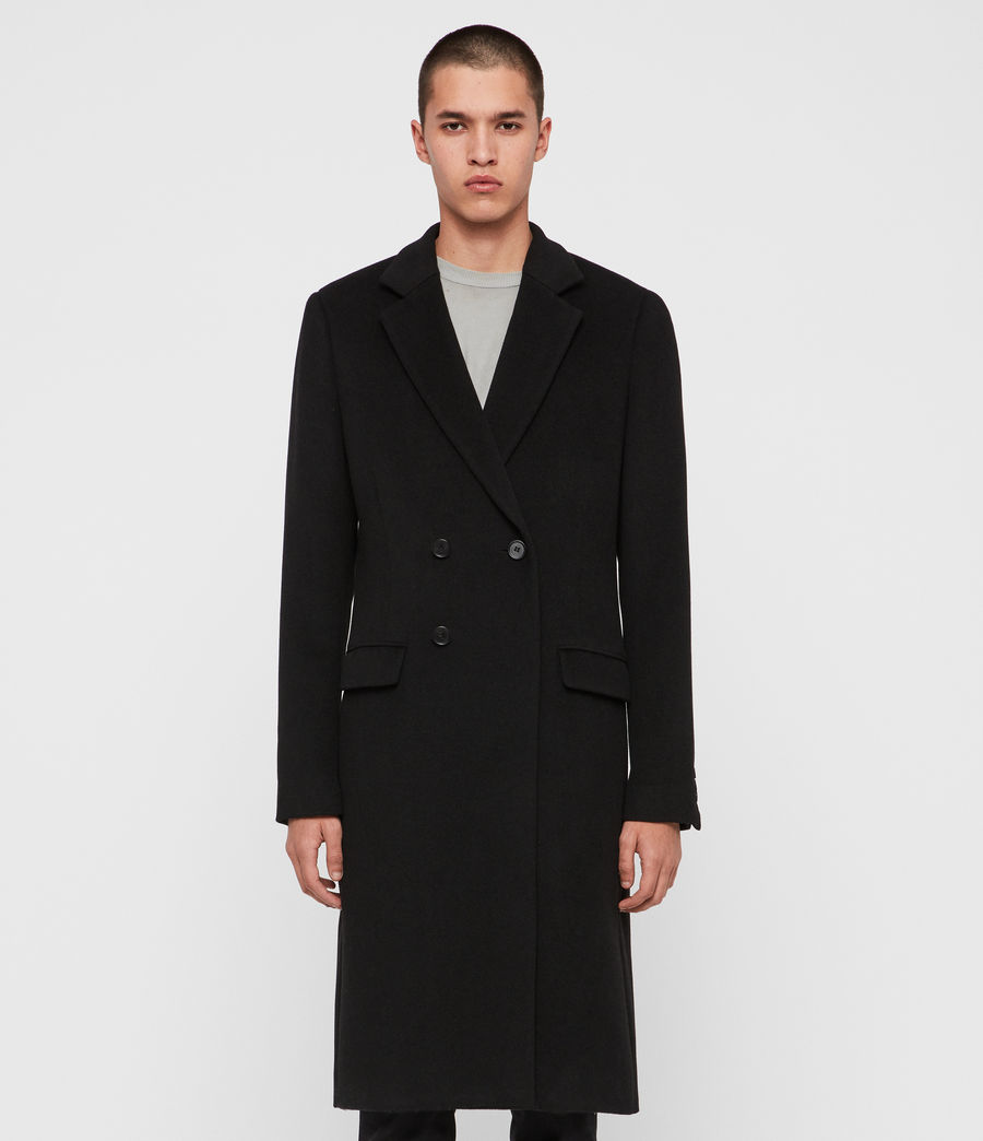 Men's Sandbrook Coat (black) - Image 3