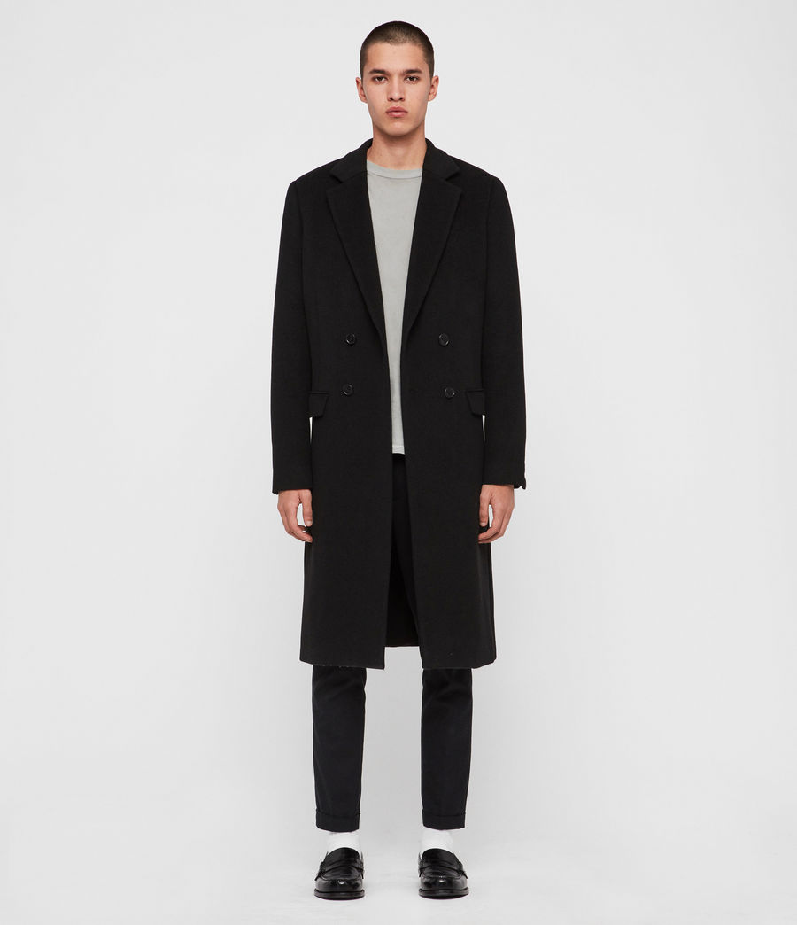 Mens Sandbrook Coat (black) - Image 2