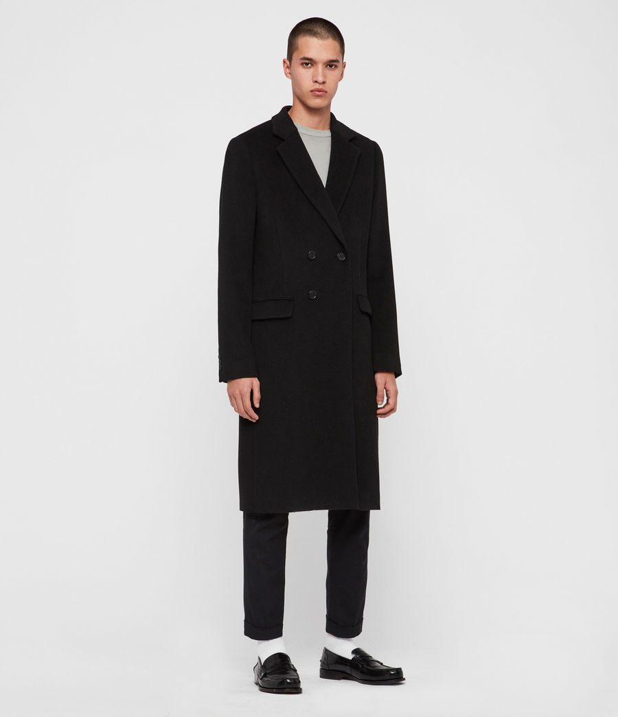 Mens Sandbrook Coat (black) - Image 4