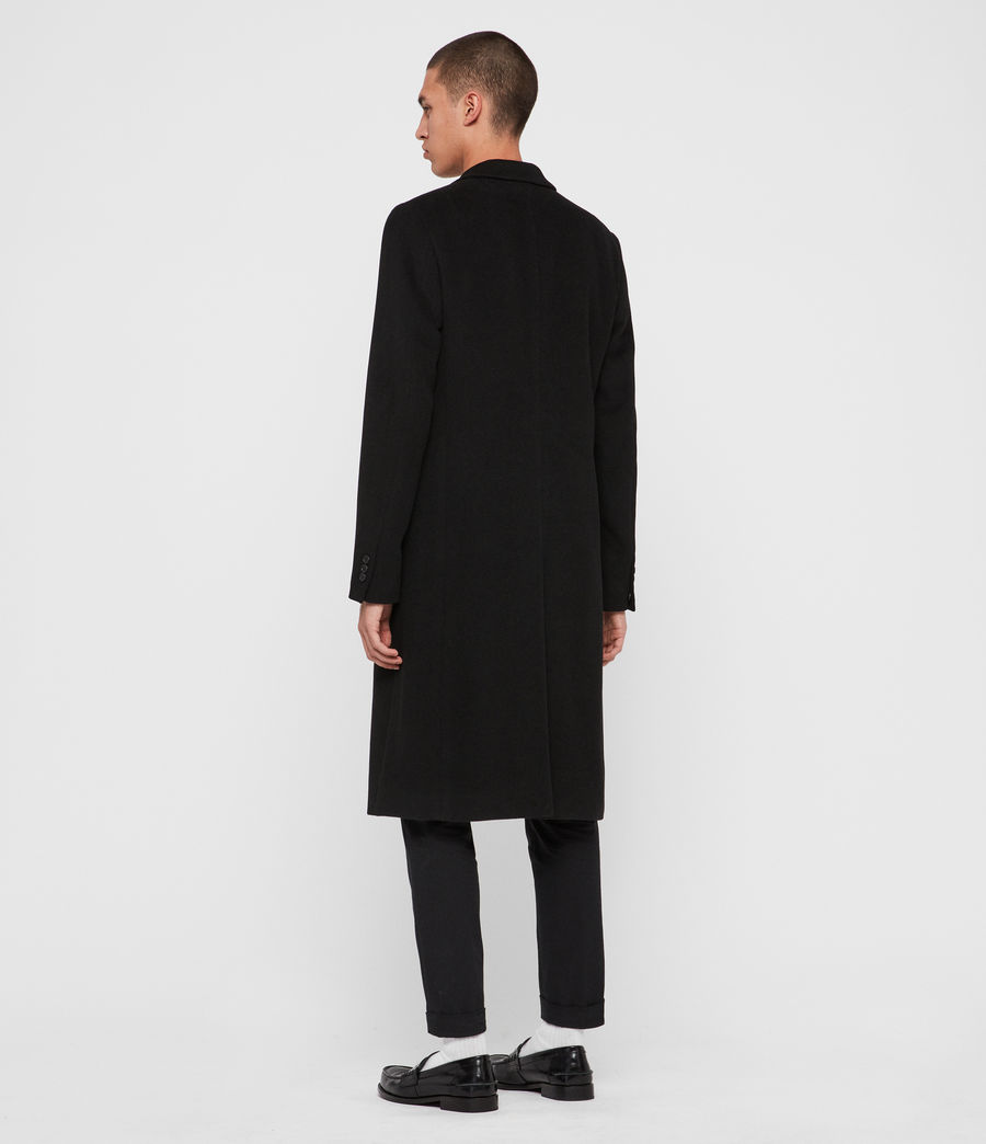 Mens Sandbrook Coat (black) - Image 5