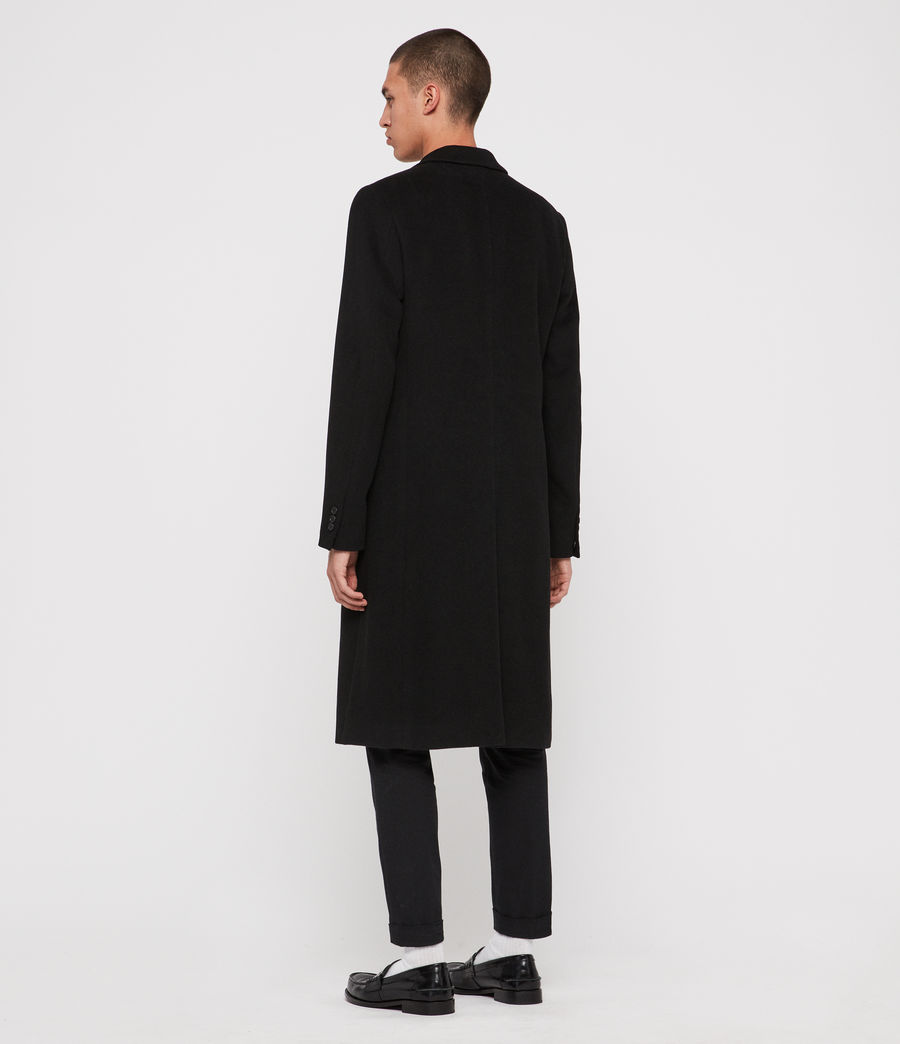 Men's Sandbrook Coat (black) - Image 8