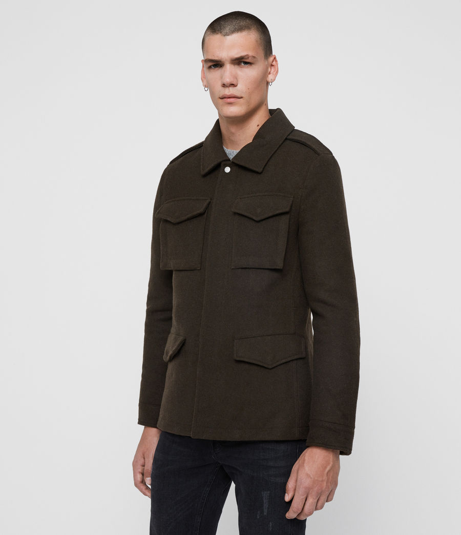 Mens Kadleston Coat (cocoa_brown) - Image 4
