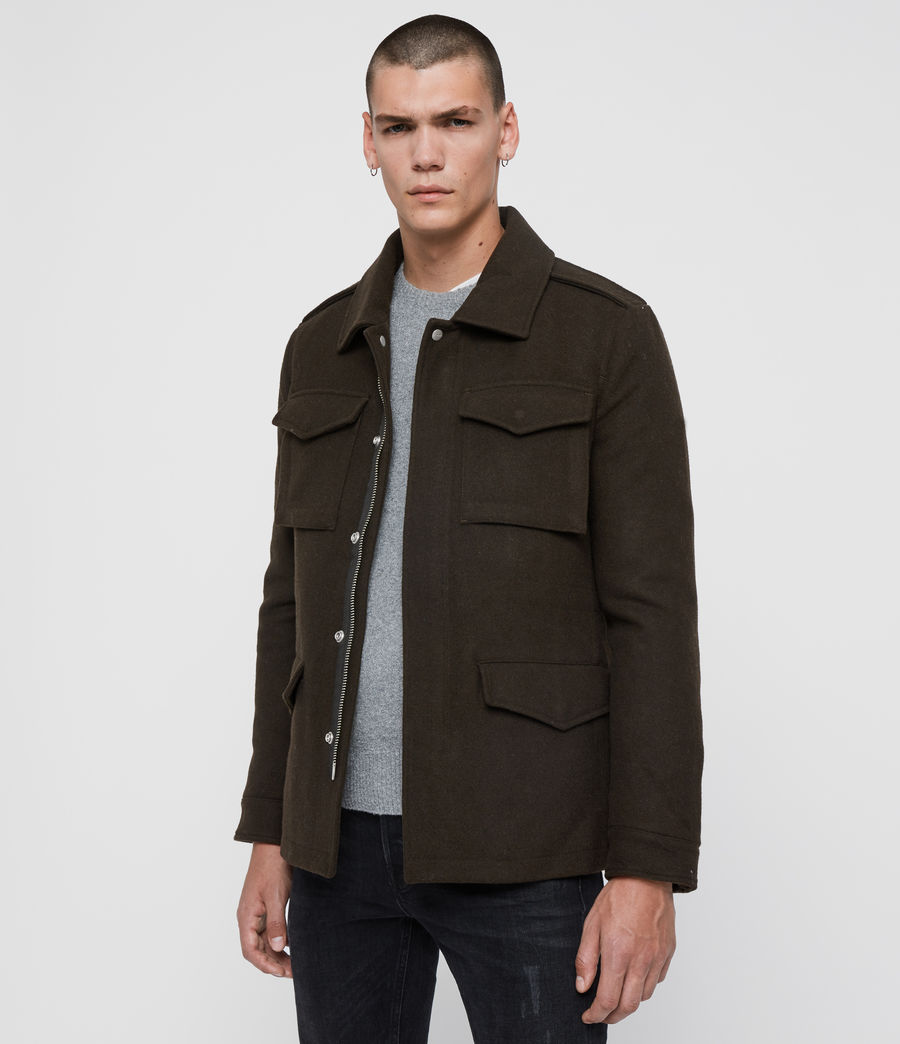 Mens Kadleston Coat (cocoa_brown) - Image 5