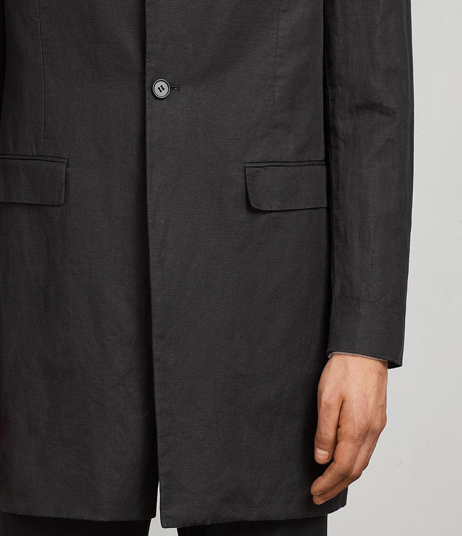 Uomo Cappotto Hirst (black) - Image 4