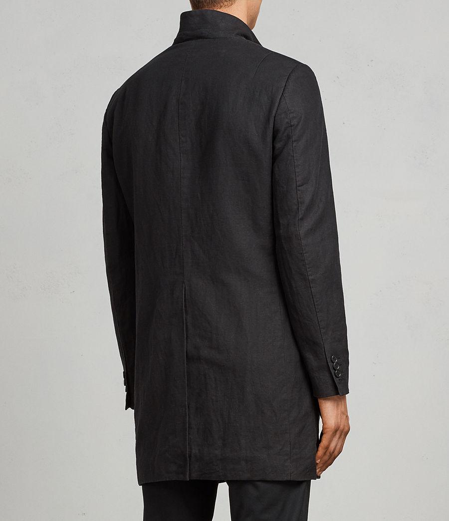 Uomo Cappotto Hirst (black) - Image 5
