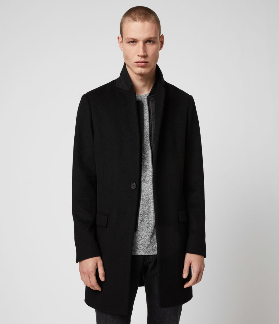 Men's Lockwood Coat (black) - Image 1
