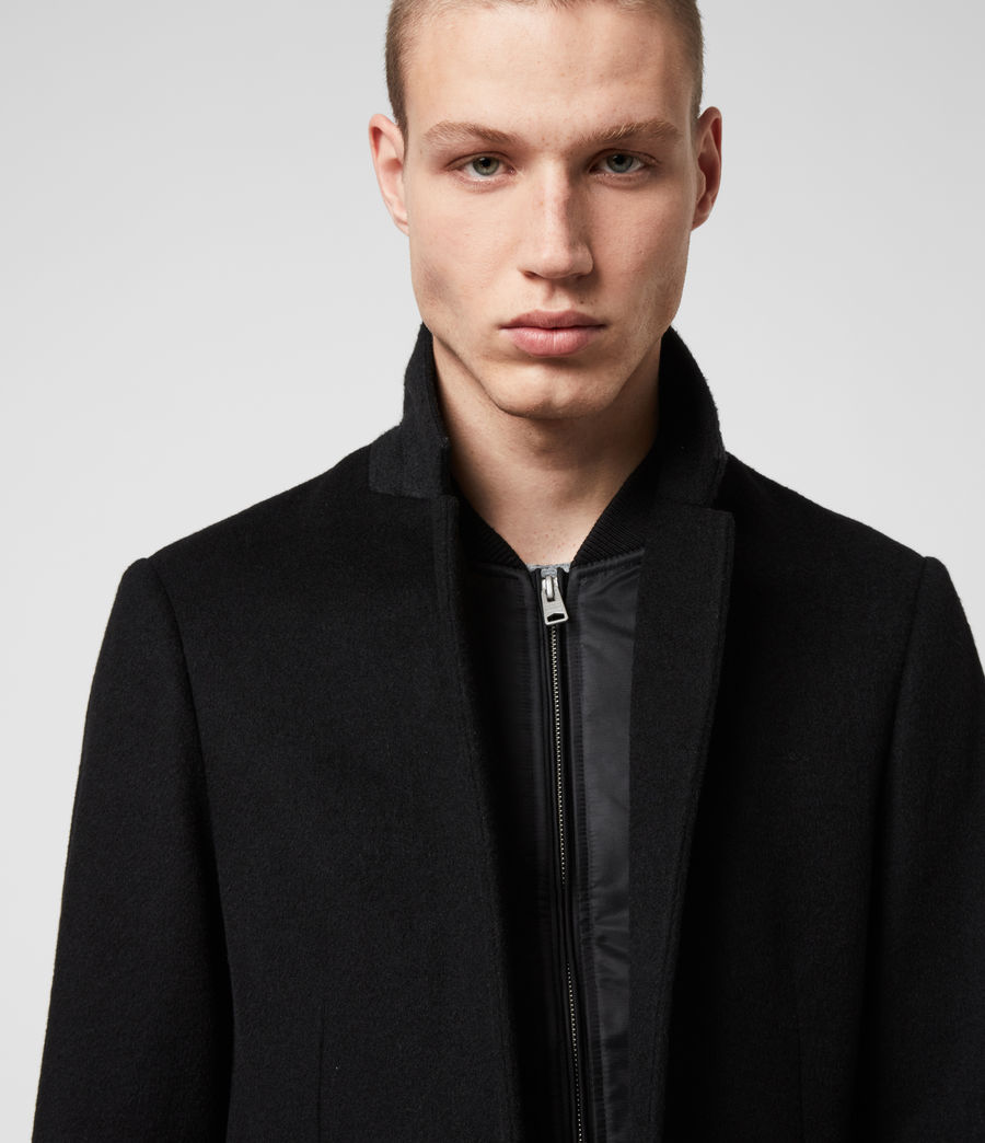Men's Lockwood Coat (black) - Image 2