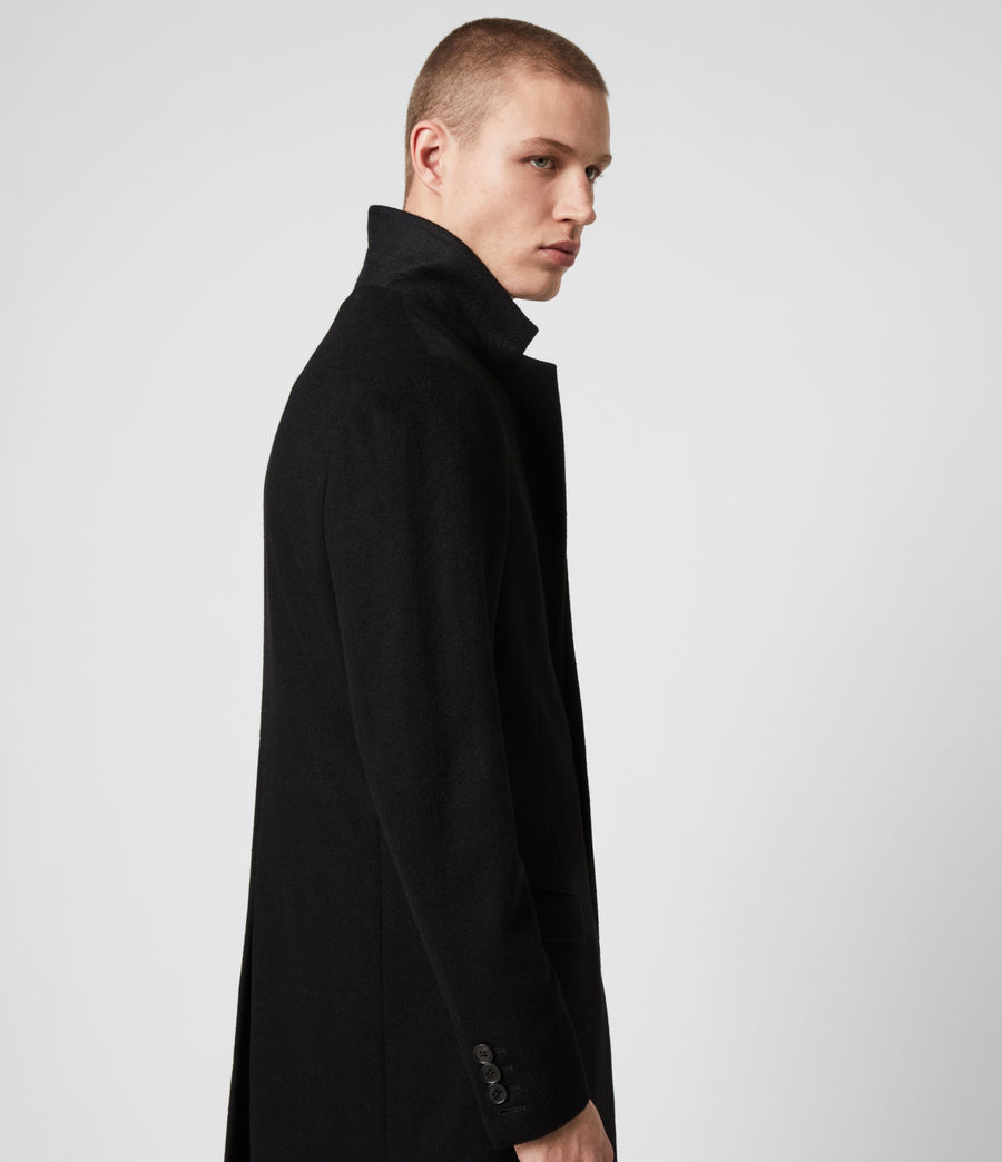 Men's Lockwood Coat (black) - Image 3
