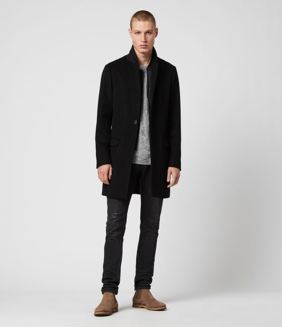 Men's Lockwood Coat (black) - Image 4