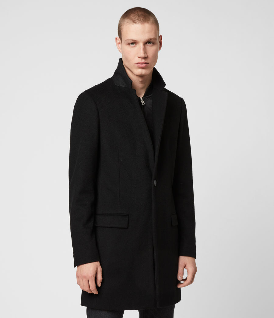 Men's Lockwood Coat (black) - Image 5