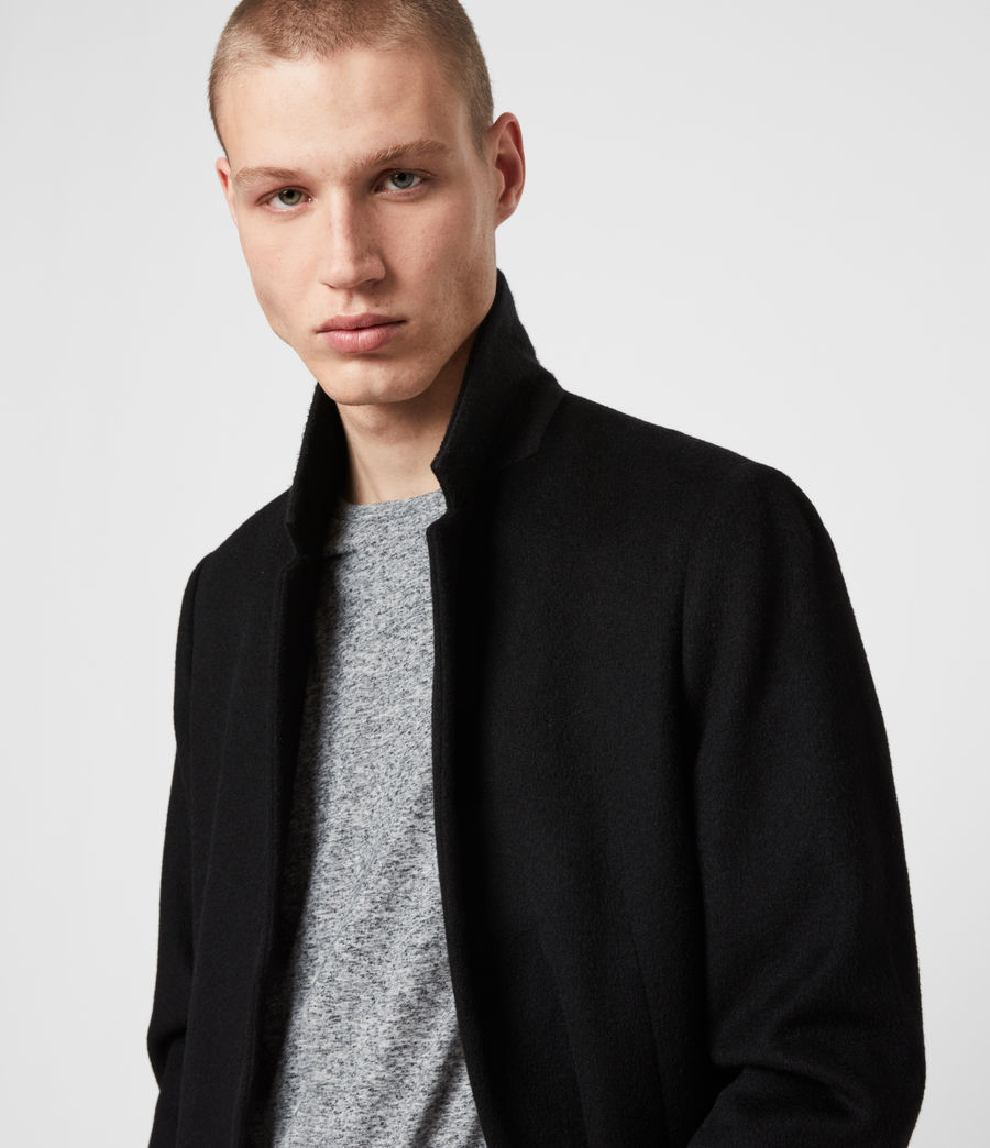 Men's Lockwood Coat (black) - Image 6