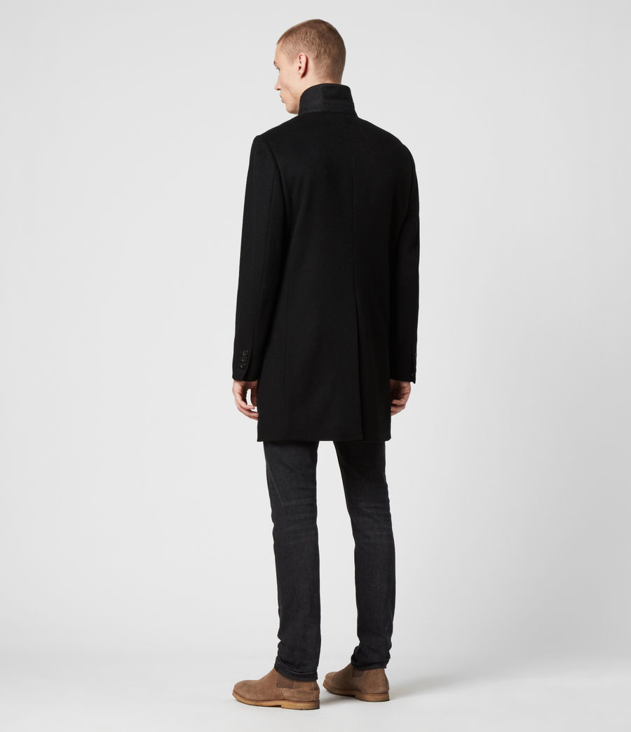 Men's Lockwood Coat (black) - Image 7