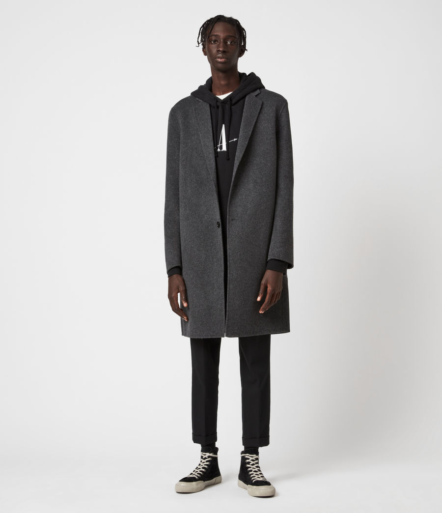 Mens Hanson Coat (light_charcoal) - Image 1