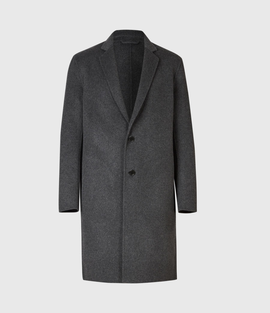 Mens Hanson Coat (light_charcoal) - Image 2