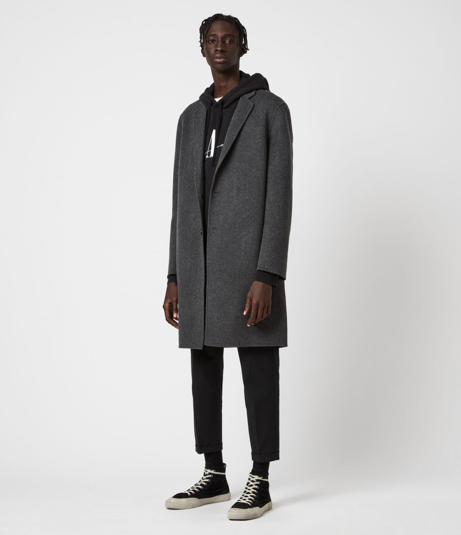Mens Hanson Coat (light_charcoal) - Image 4