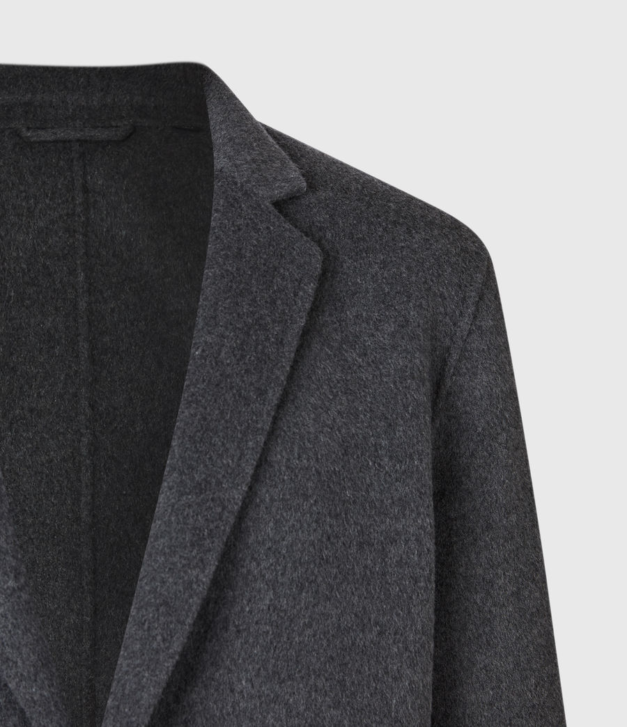 Mens Hanson Coat (light_charcoal) - Image 5
