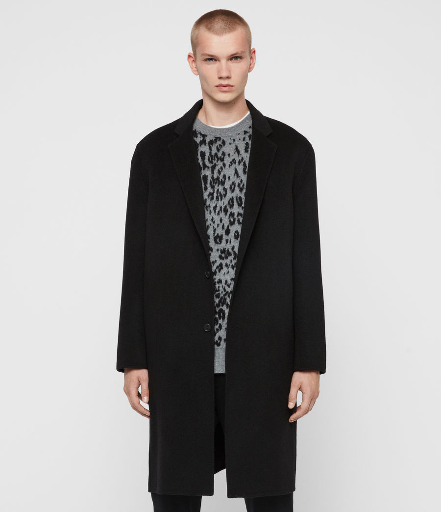 Men's Hanson Coat (black) - Image 1