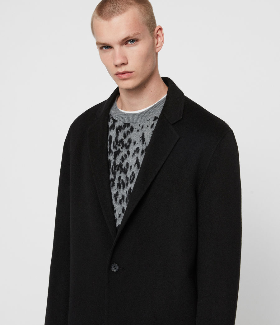 Men's Hanson Coat (black) - Image 2