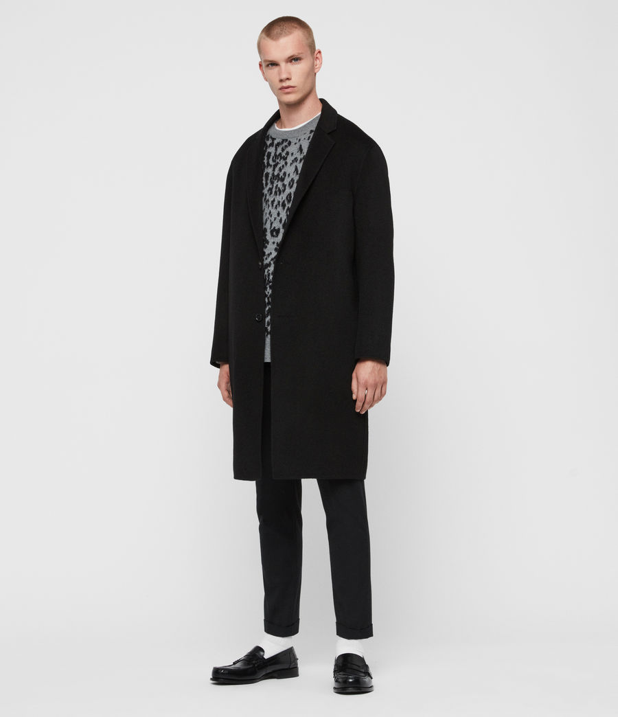 Men's Hanson Coat (black) - Image 3