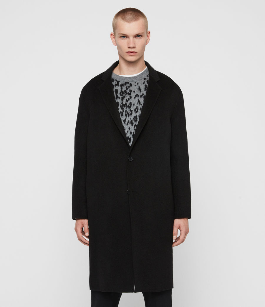 Men's Hanson Coat (black) - Image 4