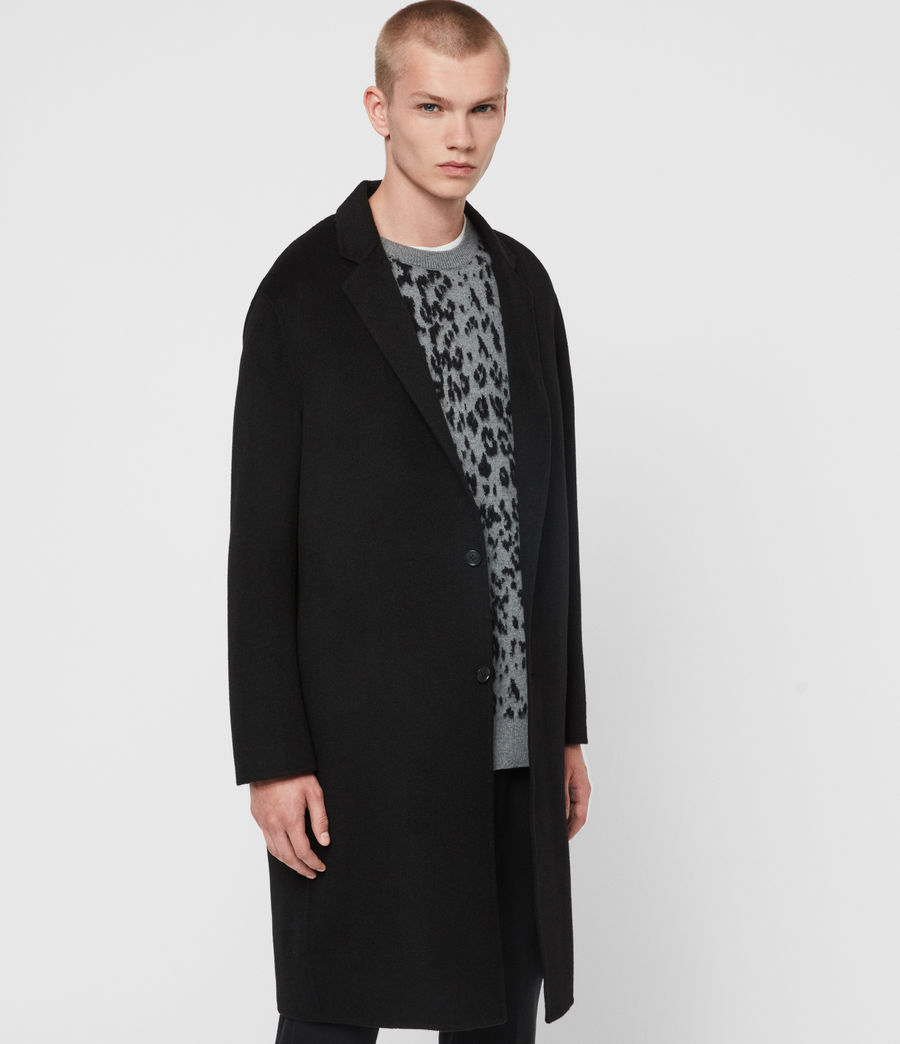 Men's Hanson Coat (black) - Image 5