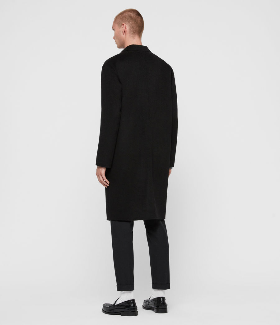Men's Hanson Coat (black) - Image 6